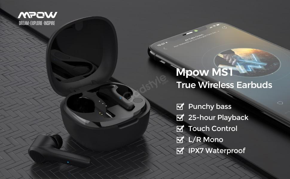 Mpow Ms1 True Wireless Earbuds (2)