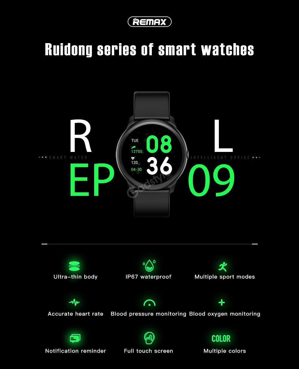 Remax Rl Ep09 Smart Watch (7)