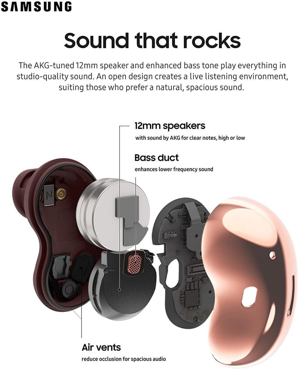 Samsung Galaxy Buds Live Wireless Earbuds (4)