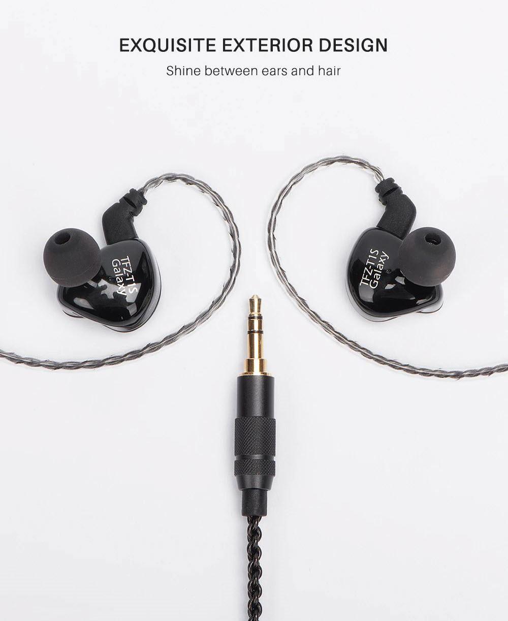 Tfz T1sm Customized Dynamic Driver In Ear Monitor Earphones (3)