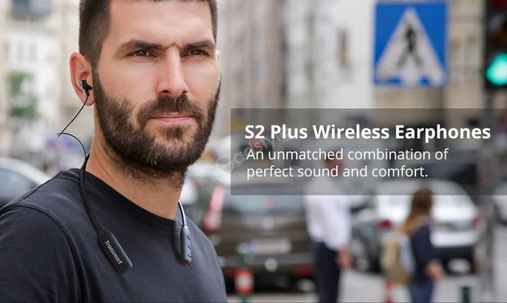 Tronsmart Encore S2 Plus Sport Bluetooth Headphones (2)