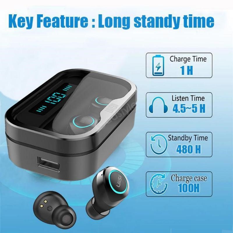 Uiisii Wintory Dual 2 Hybrid Dual Driver Wireless Earbuds (2)