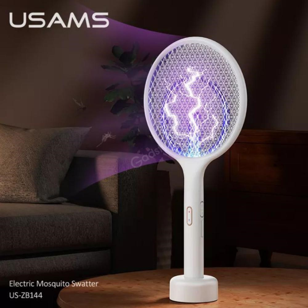 Usams Function 2 In 1 Electric Mosquito Swatter Killer Lamp (4)