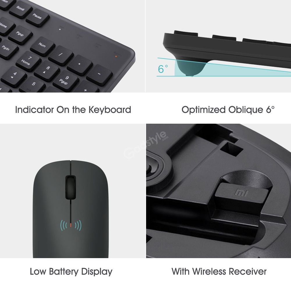 Xiaomi Mi Wireless Mouse Keyboard Set (4)