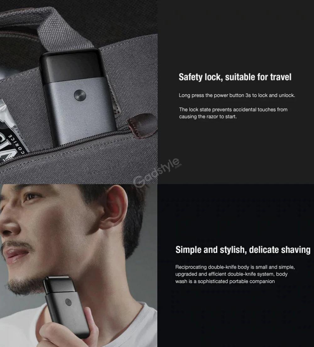 Xiaomi Mijia Rotating Dual Cutter Heads Electric Shaver (3)