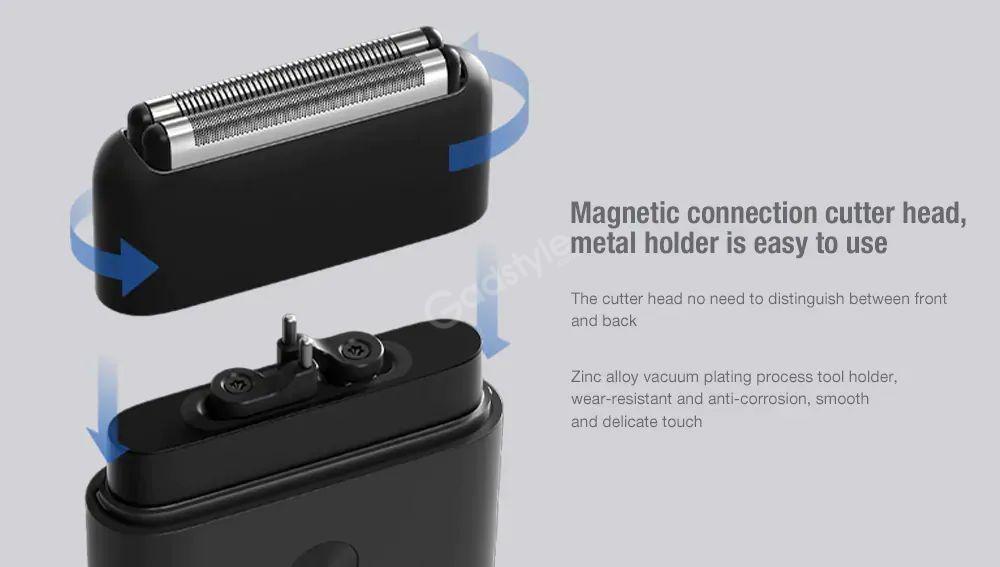 Xiaomi Mijia Rotating Dual Cutter Heads Electric Shaver (6)