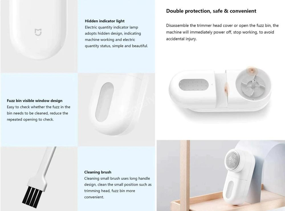 Xiaomi Portable Electric Hair Ball Trimmer (3)