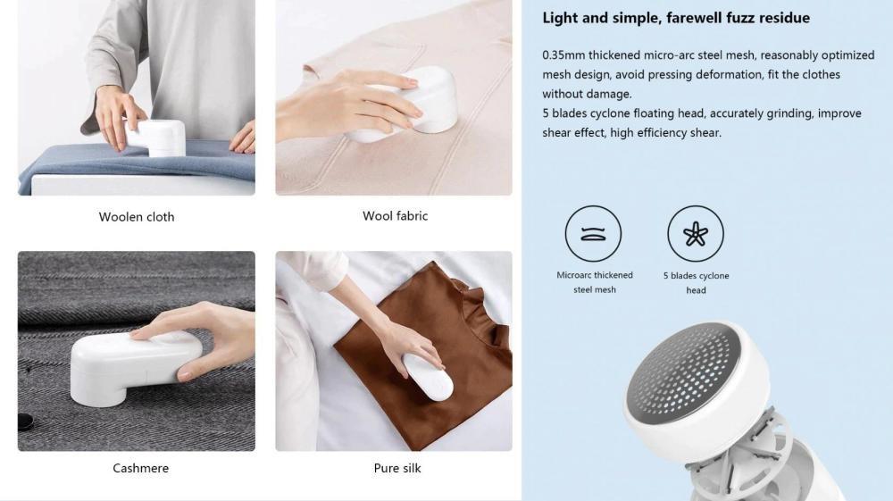 Xiaomi Portable Electric Hair Ball Trimmer (4)