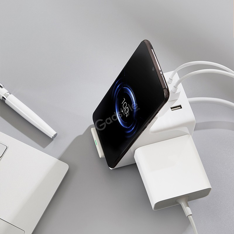 Xiaomi Vertical Wireless Charging Socket With 3 Usb Ports (2)