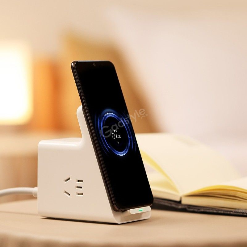 Xiaomi Vertical Wireless Charging Socket With 3 Usb Ports (3)