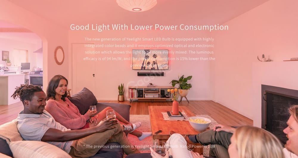 Xiaomi Yeelight Led Bulb 1s Colour Rgb Smart Bulb (1)