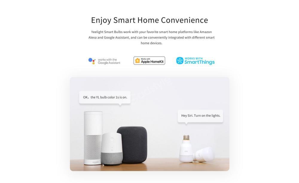 Xiaomi Yeelight Led Bulb 1s Colour Rgb Smart Bulb (2)