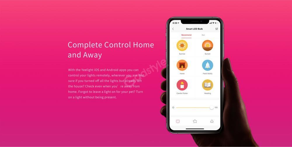 Xiaomi Yeelight Led Bulb 1s Colour Rgb Smart Bulb (5)