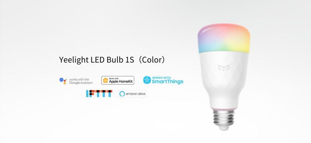 Xiaomi Yeelight Led Bulb 1s Colour Rgb Smart Bulb (8)