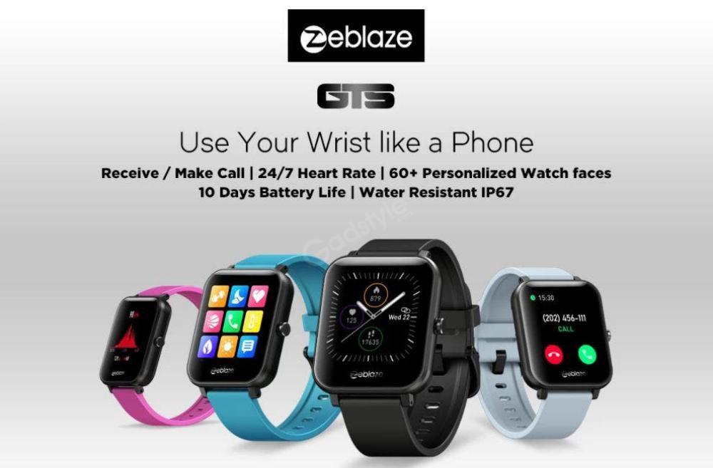 Zeblaze Gts Smartwatch Touchscreen Wearable Fitness Tracker (1)