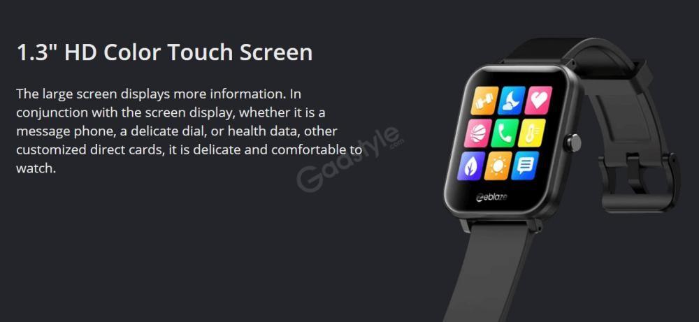 Zeblaze Gts Smartwatch Touchscreen Wearable Fitness Tracker (5)