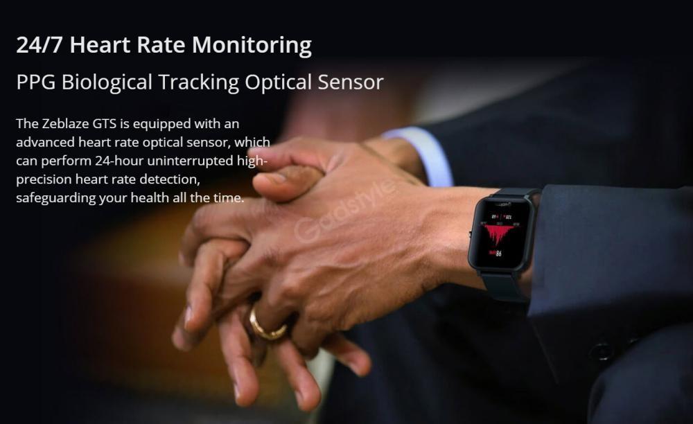 Zeblaze Gts Smartwatch Touchscreen Wearable Fitness Tracker (6)