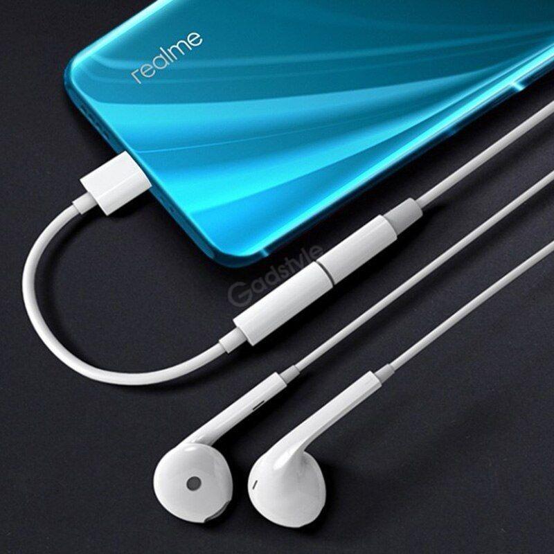 Realme Type C 3 5 Jack Earphone Usb C To 3 5mm Aux Headphones Adapter Audio
