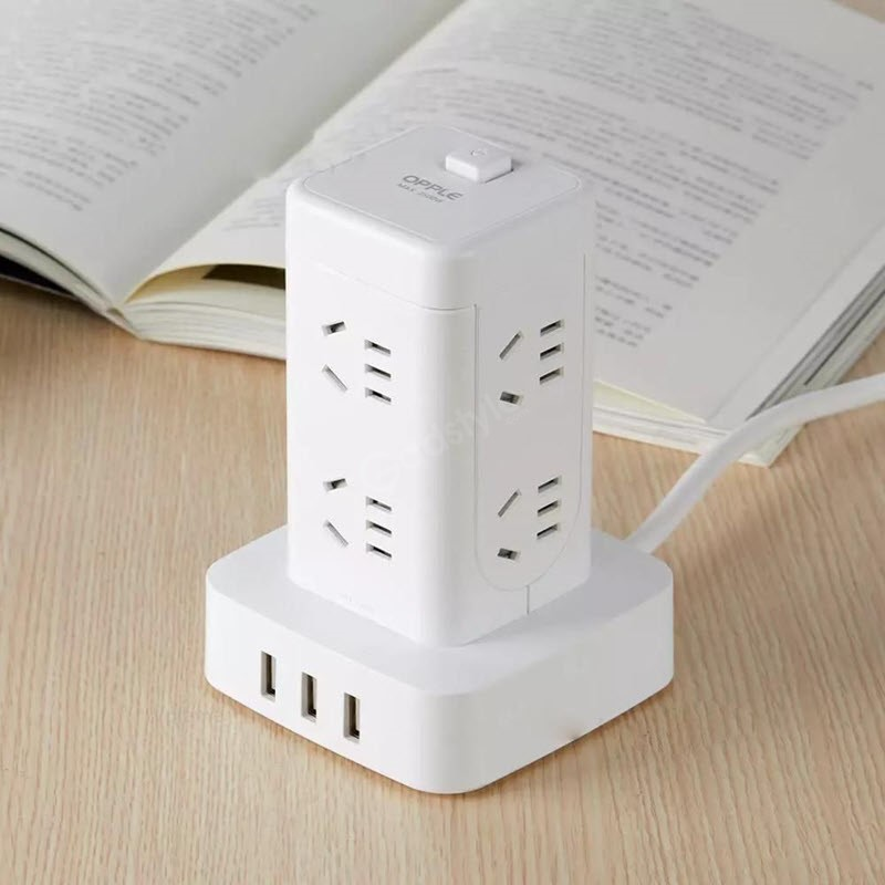 Youpin Opple Multi Functional Vertical Outlet Tower Power Strip (1)