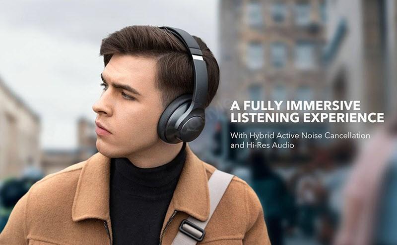 Anker Life Q20 Hybrid Active Noise Canceling Headphones (1)