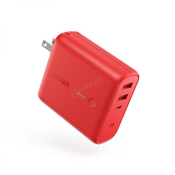 Anker Powercore Fusion 5000mah 2 In 1 Portable Wall Charger (1)