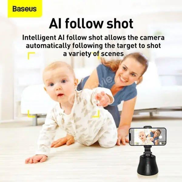Baseus 360ai Following Shot Tripod Head (3)