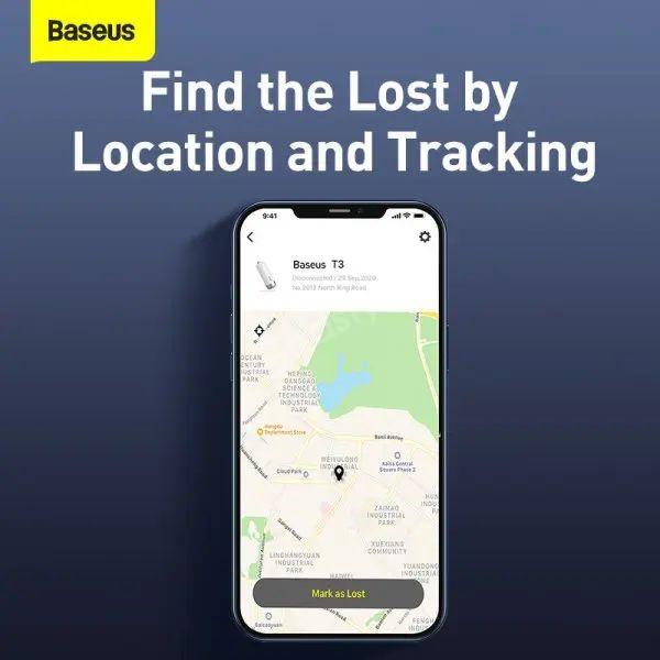 Baseus Anti Lost Tracker Wireless Smart Tracker Key Finder Alarm Tag (1)
