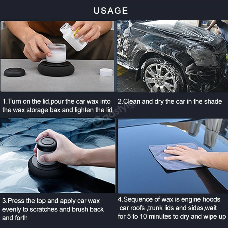 Baseus Car Polisher Scratch Repair Auto Manual Polishing Machine (2)