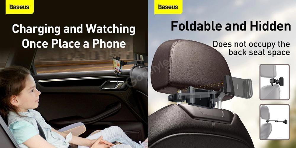 Baseus Energy Storage Backseat Holder Wireless Charger (4)