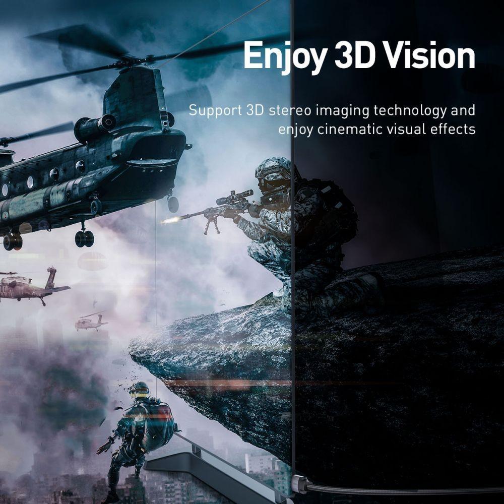 Baseus Enjoyment 4k Hdmi To 4k Hdmi Cable 300cm (3)