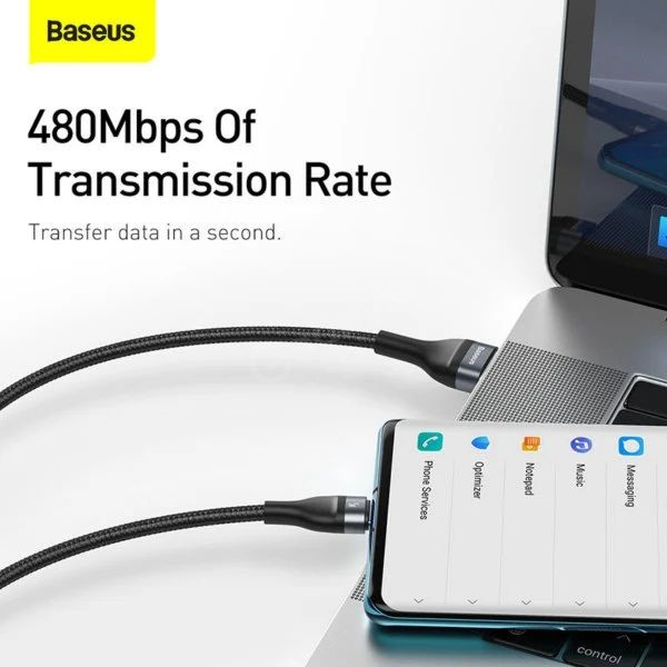 Baseus Flash Series 3 In 1 Fast Charging Data Cable Iphone Micro Usb C (5)