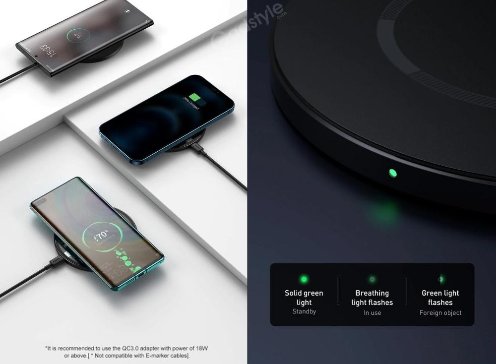 Baseus Magnetic Wireless Charger 15w (1)