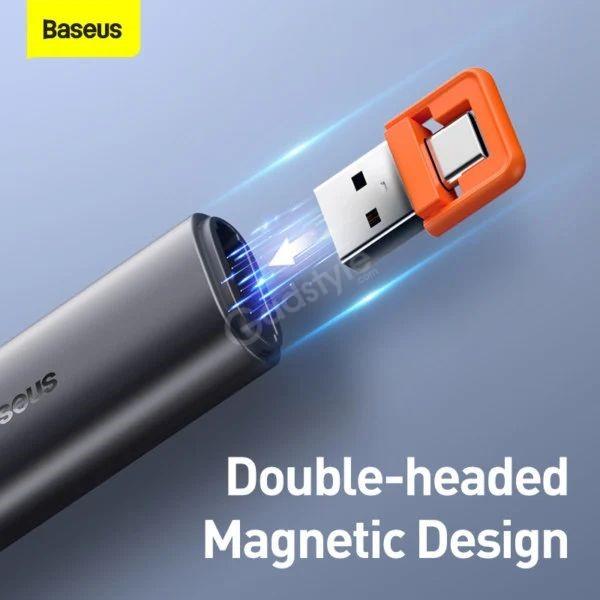 Baseus Orange Dot Remote Control Ppt Presenter Laser Pointer Pen (4)