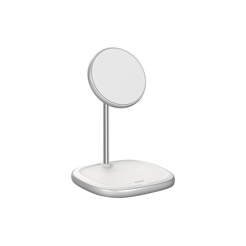 Baseus Swan Magnetic Desktop Bracket Wireless Charger For Apple 12 Series