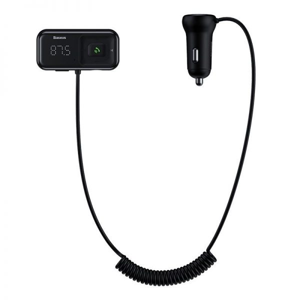 Baseus T Typed S 16 Wireless Mp3 Car Charger (1)