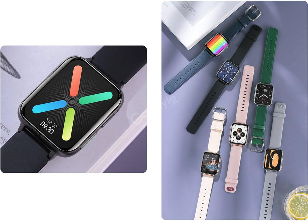 Dt88 Rectangular Smart Watch (3)
