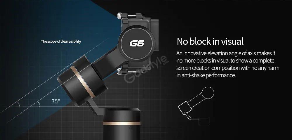 Feiyutech G6 Brushless Handheld Stabilizing Gimbal (5)