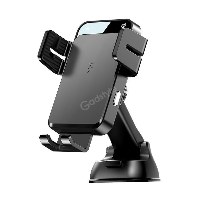 Joyroom Electric 15w Qi Wireless Charging Car Holder (1)