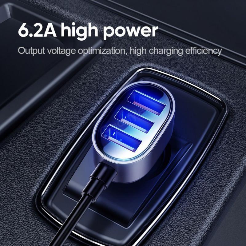 Joyroom Jr Cl03 Multi 5 Ports Usb Smart Car Charger (5)