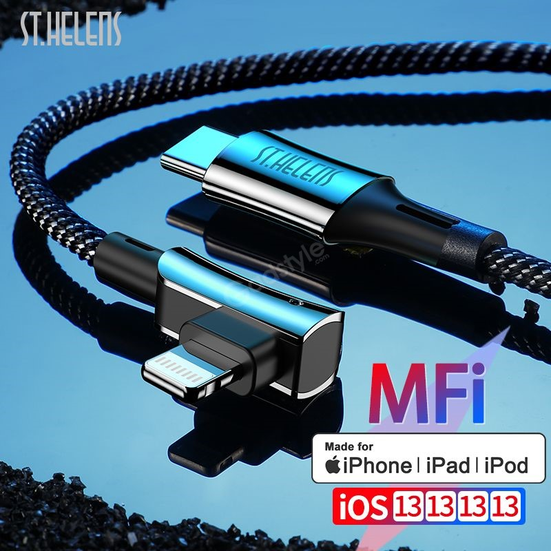 Joyroom St Helens St C03 Pd Quick Charge Cable Mfi Certified Type C To Lightning Cable (3)