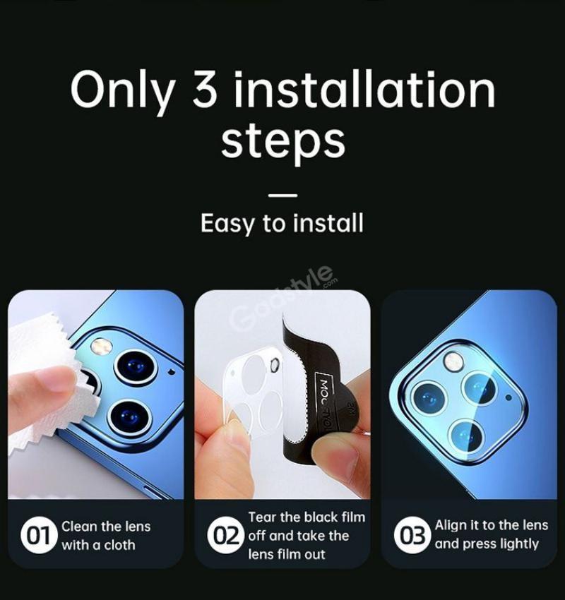 Joyroom Ultra Hd Clear Camera Lens Protector For Iphone 12 12 Mini 12 Pro 12 Pro Max (2)