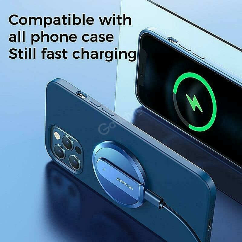 Joyroom Wireless Magsafe Charger 15w For Iphone 12 Series (1)