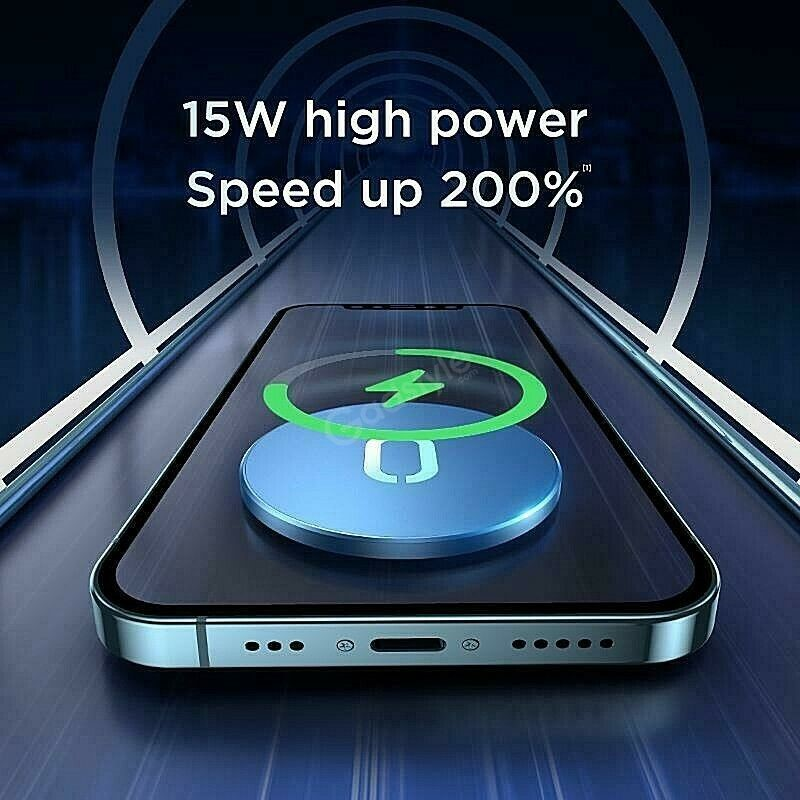 Joyroom Wireless Magsafe Charger 15w For Iphone 12 Series (3)