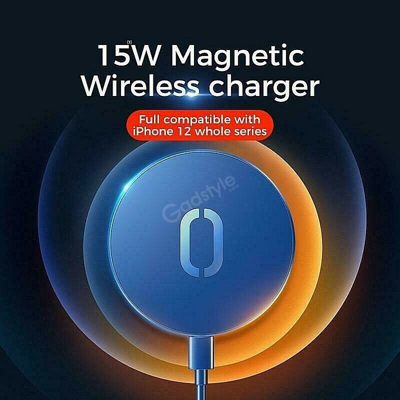 Joyroom Wireless Magsafe Charger 15w For Iphone 12 Series (4)