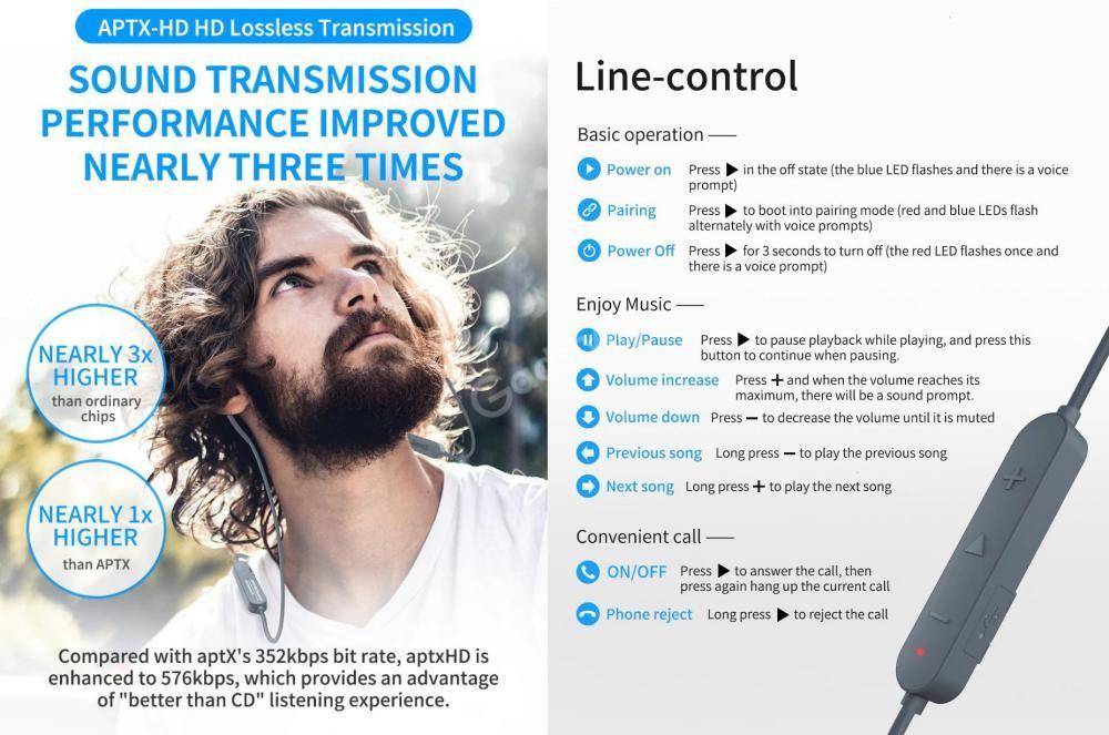 Kz Aptx Hd Bluetooth 5 0 Module Upgrade Wireless Cable (1)