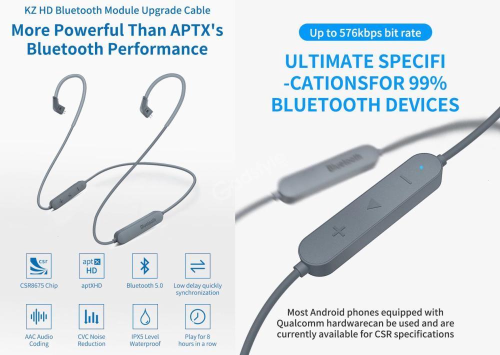 Kz Aptx Hd Bluetooth 5 0 Module Upgrade Wireless Cable (3)