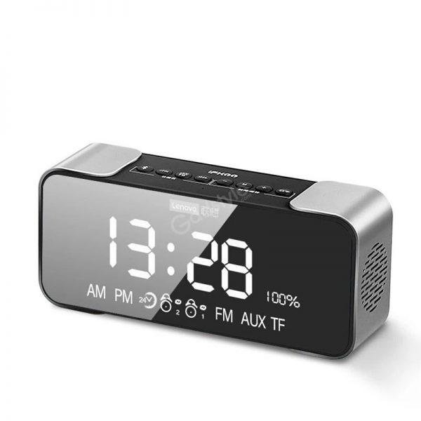 Lenovo L022 Led Alarm Clock Bluetooth Speaker (3)