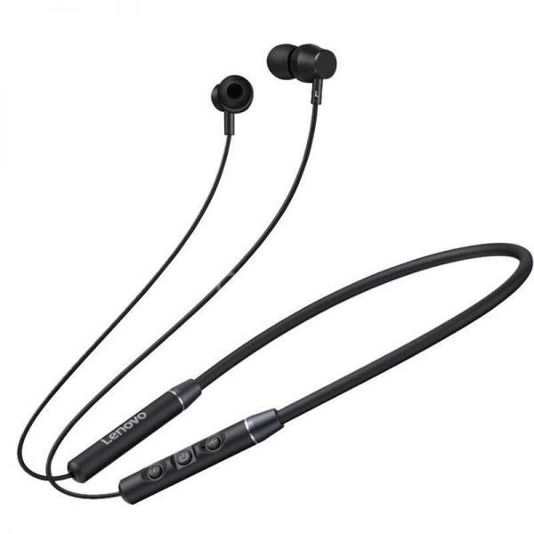 Lenovo Qe03 Wireless Neckband Bluetooth Earphones (2)