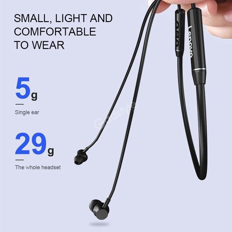 Lenovo Qe03 Wireless Neckband Bluetooth Earphones (3)
