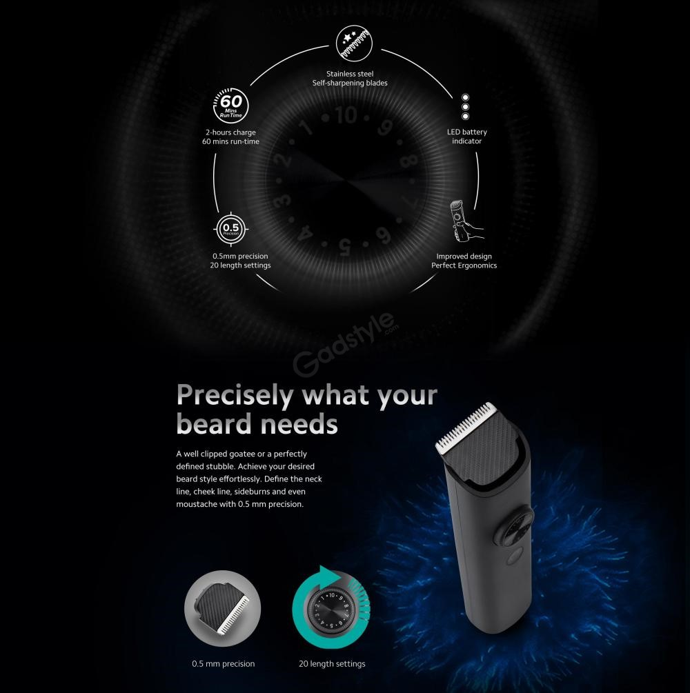 Mi Beard Trimmer 1c With 60 Minute Battery (6)